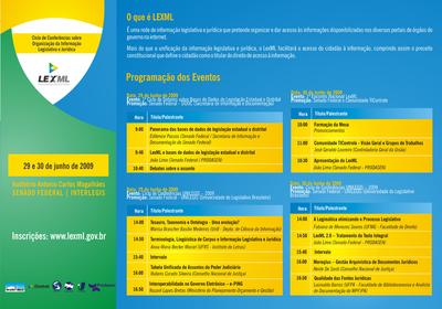 Convite Evento LexML