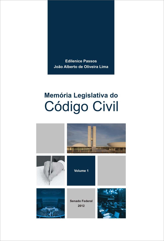 Memória Legislativa do Código Civil