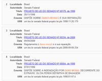 Pesquisa com suporte de Léxico da Língua Portuguesa
